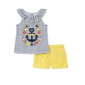 Baby Girls 2 Pieces Shorts Set